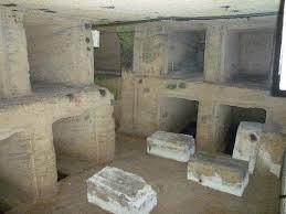 مقابر الدفن الرومانية