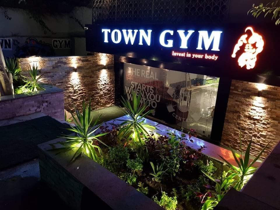 town gym